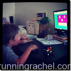 school at home, preschool, StarFall