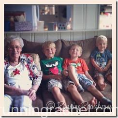 Grammy and her great grandsons