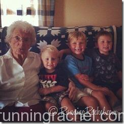 GG and her great grandsons