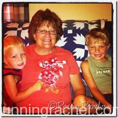 Nana and her grandsons