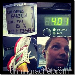 Tempo Treadmill Run
