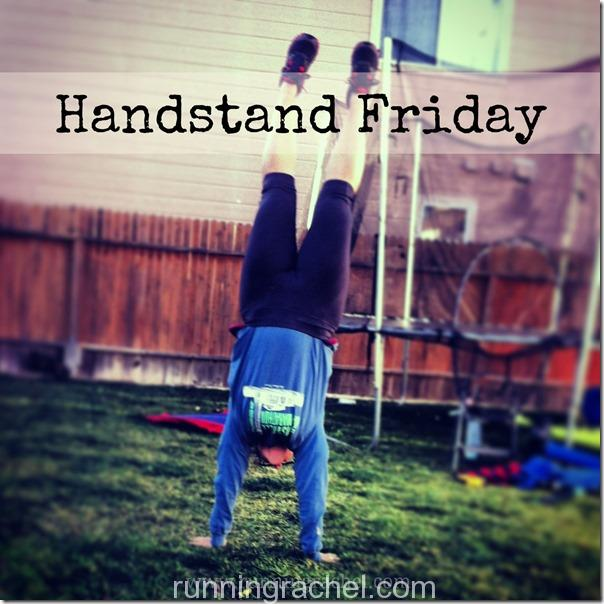 handstand friday via runningrachel