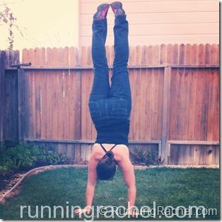 handstand friday 3/8 via @runningrachel