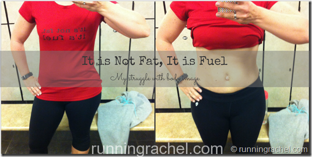 it's not fat, it is fuel: my struggle with body image