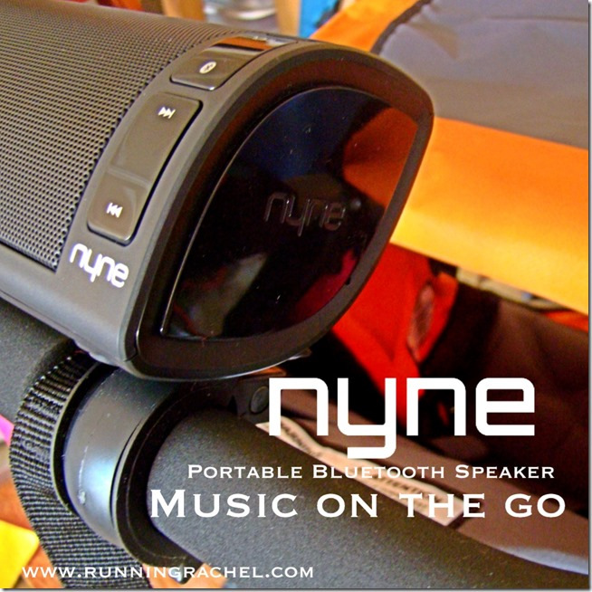 nyne portable bluetooth speaker, nb-200